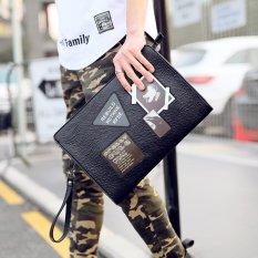 Tidog Hàn Quốc nam cầm tay áo Phố clutch túi đựng IPAD-quốc tế