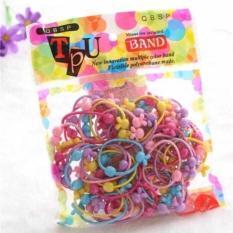 Túi dây cột tóc nhiều màu cho bé gái thêm xinh xắn đáng yêu ( 50 dây )