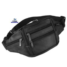 Túi Đeo Bụng Da Thật Cao Cấp Đồ Da Thành Long TLG 205872-11(đen)