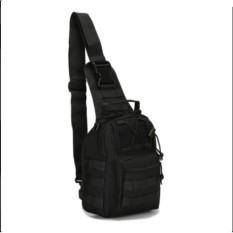Túi đeo chéo 1 QUAI thể thao du lịch chống nước quân đội Mỹ (Đen) TDQ3