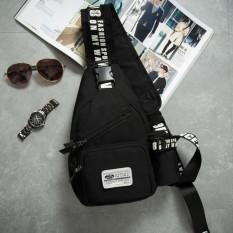 Túi đeo chéo 1 QUAI thể thao du lịch (Đen) XIN3