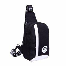 Túi đeo chéo canvas HARAShop HR105 ( ĐEN)