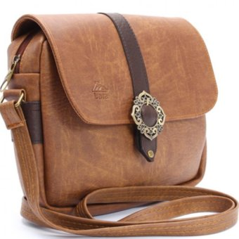 Túi đeo chéo LATA HN04 (Da bò nhạt)