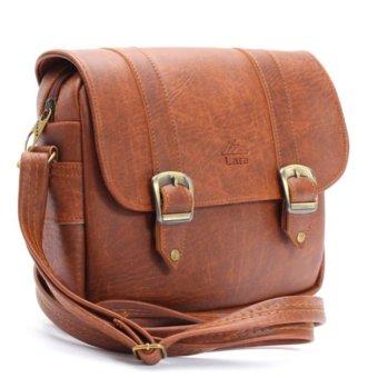 Túi đeo chéo LATA HN08 (Da bò đậm )  tiết kiệm