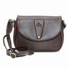 Túi đeo chéo LATA HN15 (Da nâu )