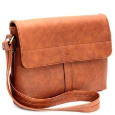 Túi đeo chéo Lata TN00 ( da bò đậm)