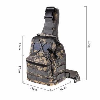 Túi đeo chéo màu giàn di quân đội