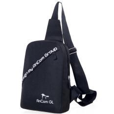 Túi đeo chéo Nam nữ AnCom GL mẫu mới 2018 (Đen)