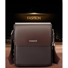 Túi đeo chéo nam thời trang da cao cấp- cá tính - sang trọng(màu cafe sẫm)