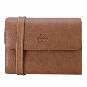 Túi đeo chéo nữ đa năng LATA HN37 (Bò nhạt)