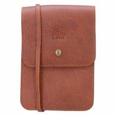 Túi đeo đựng điện thoại  LaTa VN06 (bò đậm)