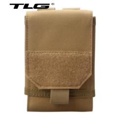 Túi Đeo Hông Đựng Điện Thoại Cỡ To 6 inch 208058 (kaki) tặng 01 bút bi cao cấp TLG K 410