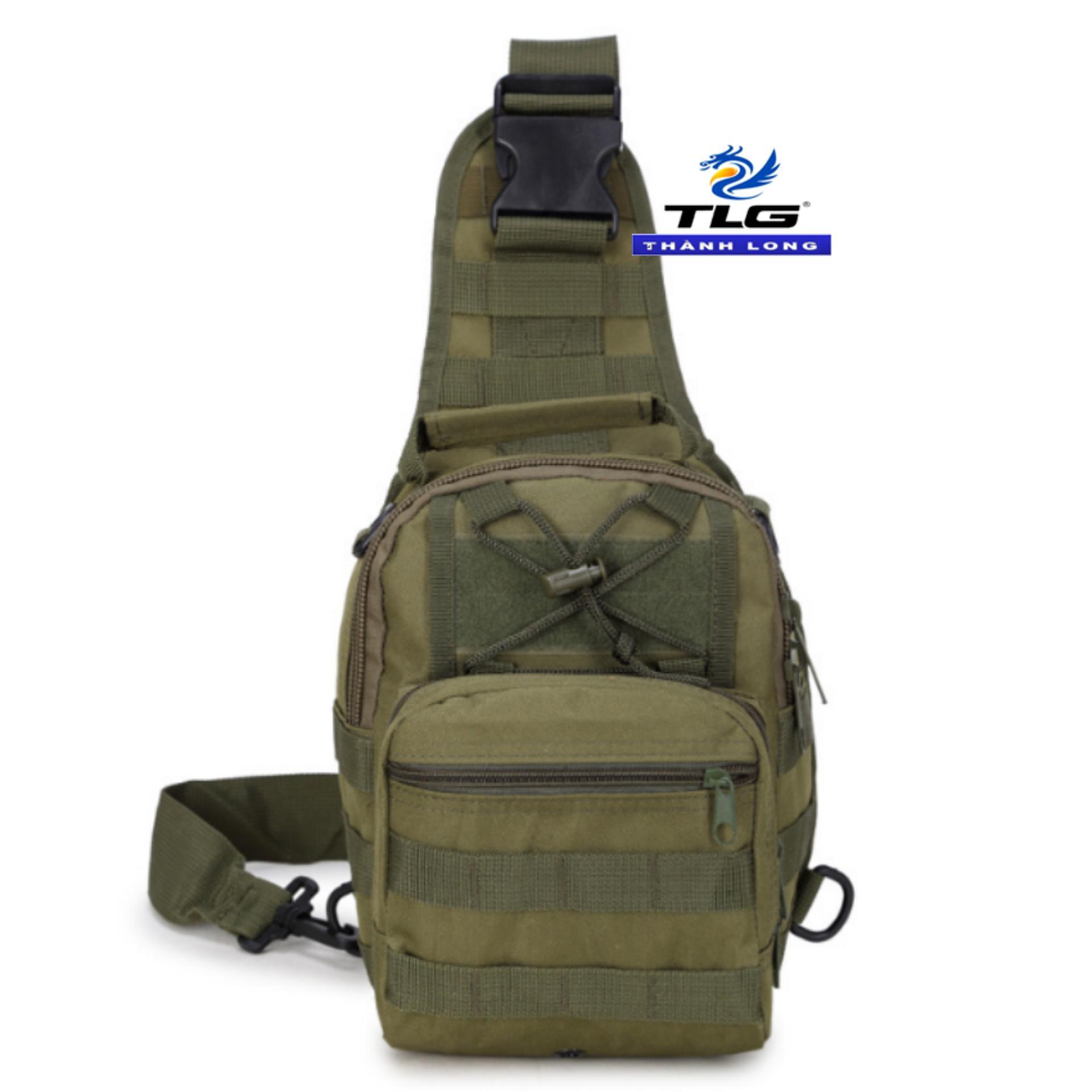 Túi đeo ngực thời trang du lịch phong cách Quân đội Mỹ TL8128 2(oliu)