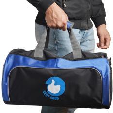 Túi trống thể thao cỡ lớn Verygood – Vrg1310- MS1- đen phối xanh