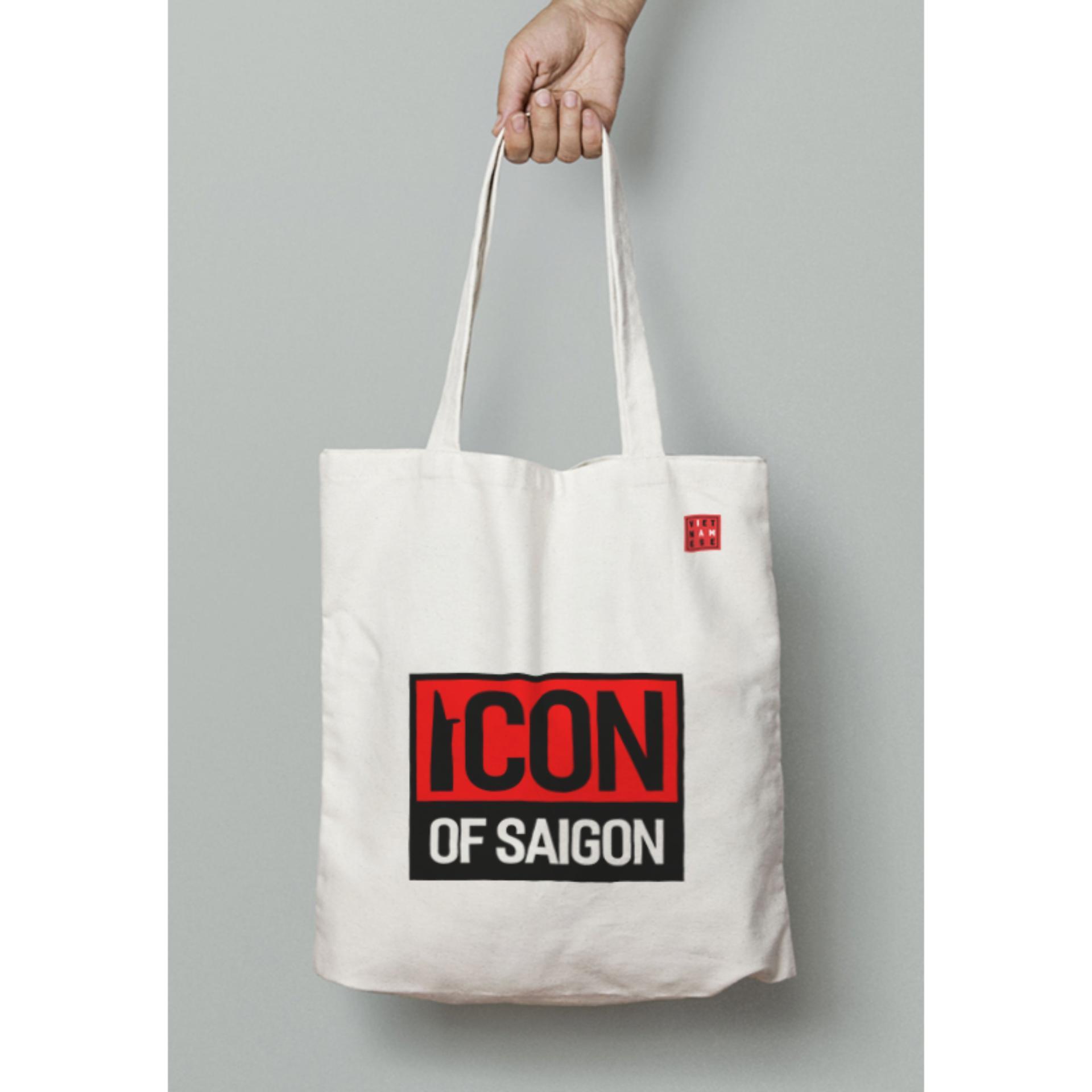 "Túi vải canvas ""Icon of Saigon"""