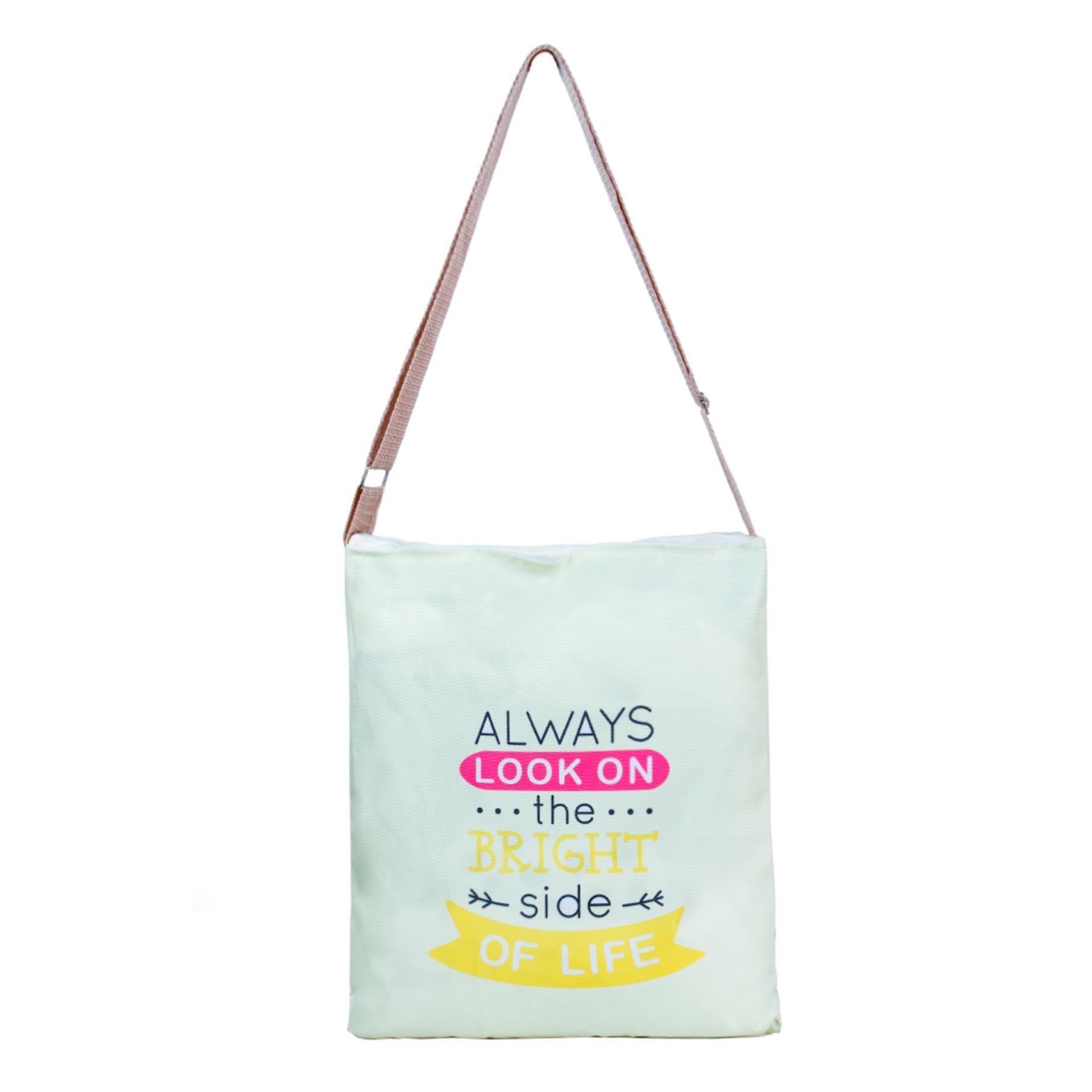 Túi Vải Tote Bag Có Dây Đeo Chéo Always XinhStore