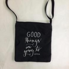 Túi Vải Tote Bag Có Dây Đeo Chéo Good Thing XinhStore