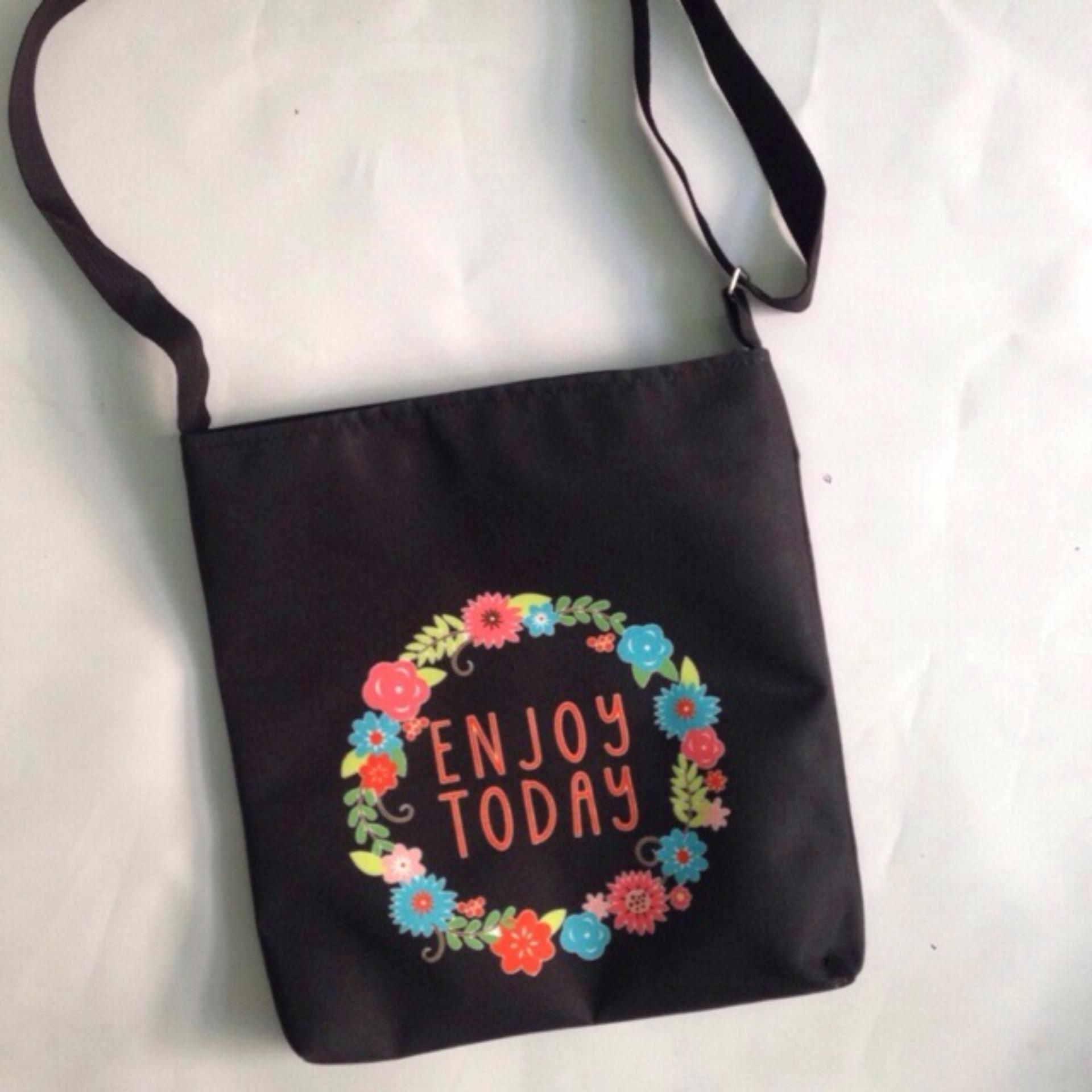 Túi Vải Tote Bag Có Dây Đeo Chéo Enjoy XinhStore