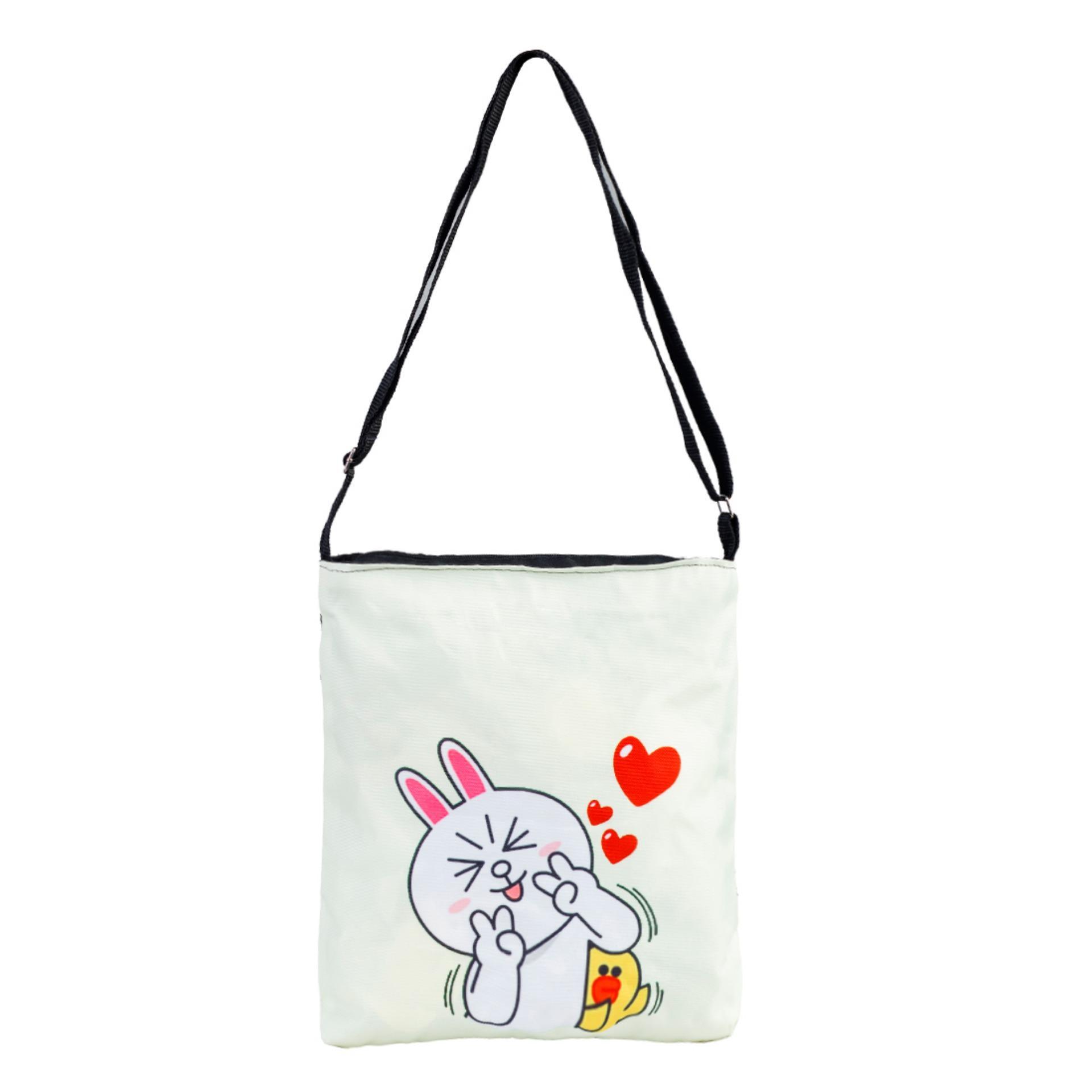 Túi Vải Tote Bag Có Dây Đeo Chéo XinhStore