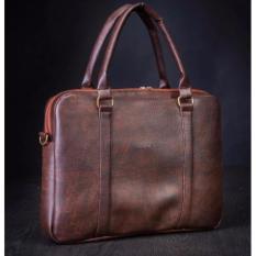 Túi xách da đựng Laptop Hanama G3 – (Nâu cafe)