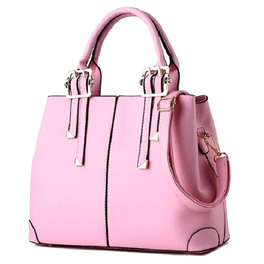 Túi xách nữ Dimon Letin Fashion Handbags T6868-11-270 (Hồng)