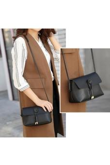 Túi xách nữ thời trang, màu sắc thanh lịch, thời trang (đen)