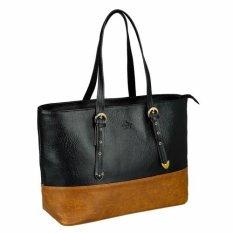 Túi xách tay nữ LATA TX01  (Da đen)
