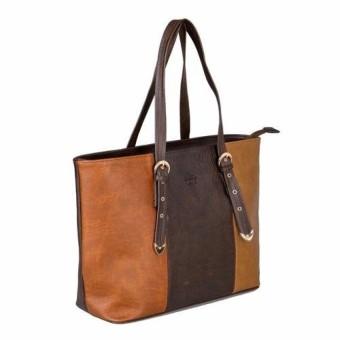 Túi xách tay nữ LATA TX02 (Da nâu)