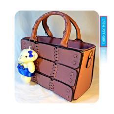 Túi xách tay nữ thời trang hoạ tiết ô vuông TXTN04