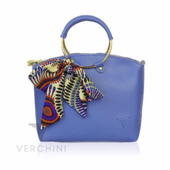 Túi xách Verchini màu xanh lam 004909  miễn phí
