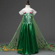 Váy đầm bé gái váy đầm công chúa anna đính đá GLV066