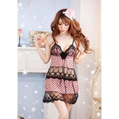 Váy Ngủ Sexy Voan Bi Lưới CDAN54 Chodeal24h
