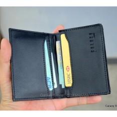 Ví Bóp Nam Nhỏ Gọn Cao Cấp Nhiều Ngăn Để Thẻ CMND Galaxy Store GVMB03B (Đen)