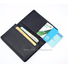 Ví Bóp Nam Nhỏ Gọn Nhiều Ngăn Để Thẻ CMND Galaxy Store GVMB01 (Đen)