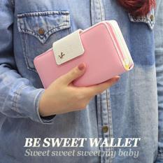 Ví Bóp Tiền Nữ Nhiều Ngăn Tiện Dụng DON006 (Hồng Phấn)