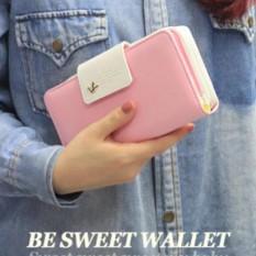 Ví Bóp Tiền Nữ Nhiều Ngăn Tiện Dụng SPER03 (Hồng Phấn)