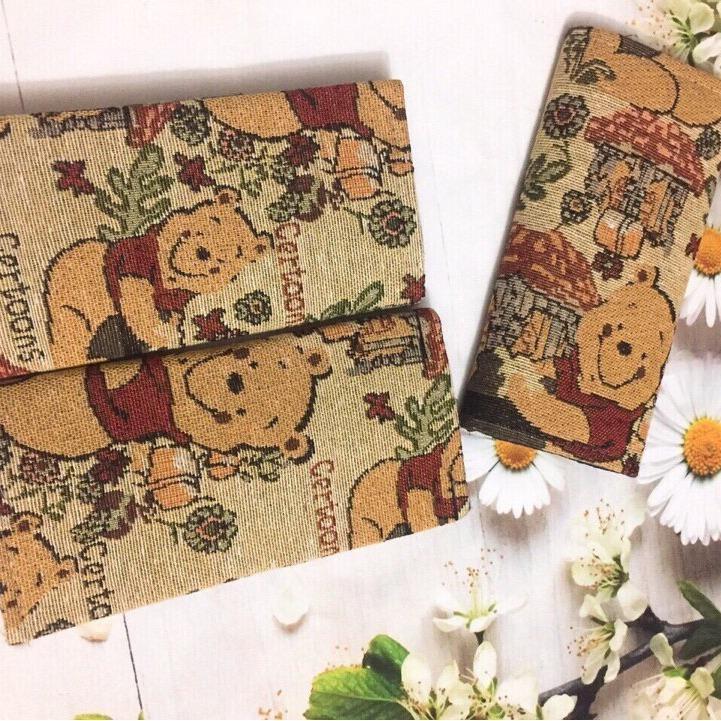 Chi tiết sản phẩm Ví Thổ Cẩm Tinh xảo Gấu Boo