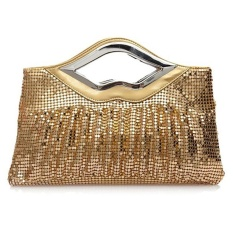 Nữ Clutch Thời Trang Vintage Paillette Tối Tay Túi Đảng túi Satchel (vàng) (vàng)-quốc tế