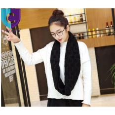 Xả hàng Khăn len ống Hàn Quốc cho bạn gái( Đen)