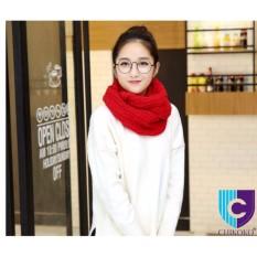 Xả hàng Khăn len ống Hàn Quốc cho bạn gái( đỏ )