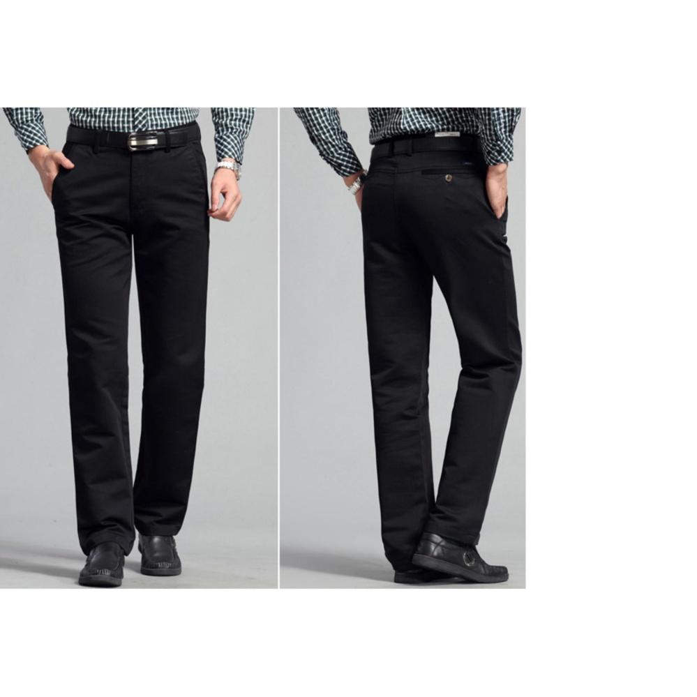 Xả hàng quần kaki trung niên nam(Màu đen-Size 28,29,34)