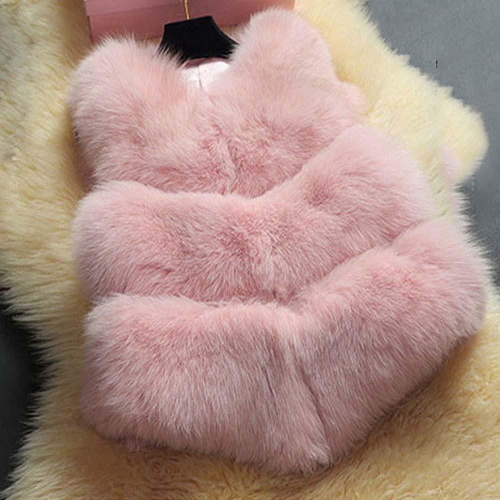 Giá Khuyến Mại Zaful Woman Elegant Faux Fur Coat Women Fluffy Warm Sleeveless Female Outerwear Chic Autumn Winter Coat Jacket Hairy Vest Waistcoat – intl