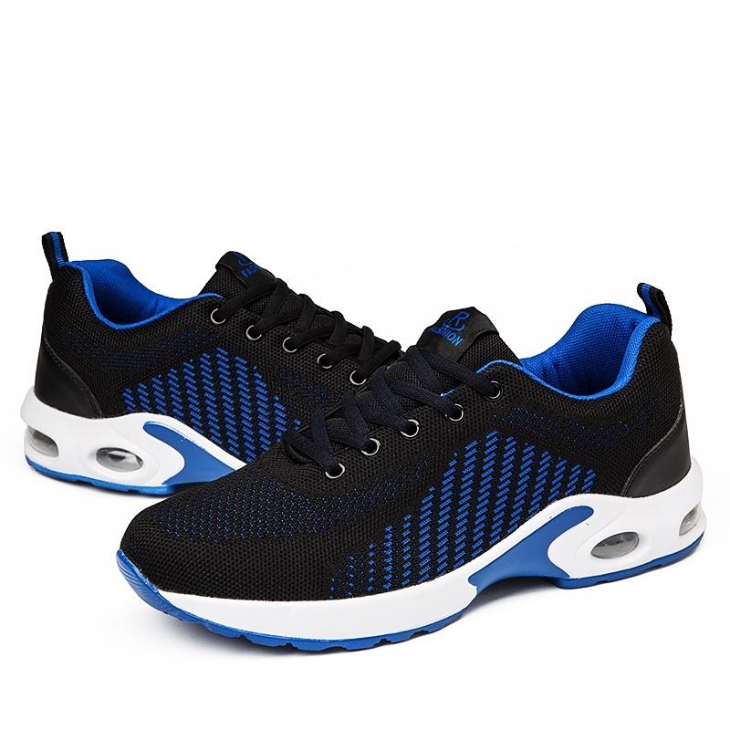 ZOQI Sneaker Men Fashion Outdoor Sport Shoes Running Shoe(Black&Blue) - intl