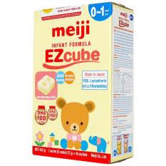 [Hàng Cty – Sale] 1 Hộp (16 thanh ; 5 viên/thanh) Sữa Meiji cube 0-1 tuổi ( Hàng nhập khẩu )