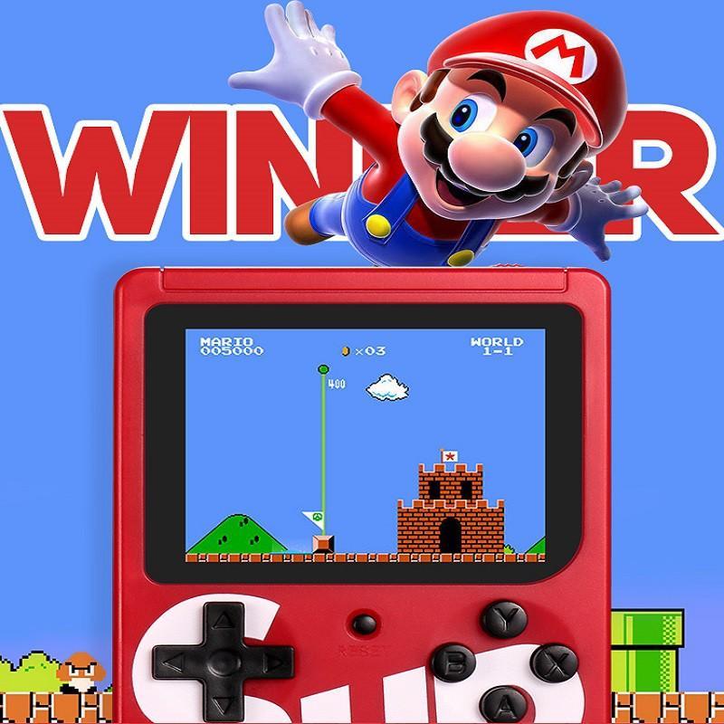MÁY CHƠI GAME 4 NÚT CẦM TAY SUP GAME BOX 400 IN 1 PLUS