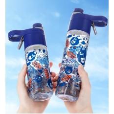 Bình nước xịt khoáng cho bé từ 36 tháng đến 10 tuổi full box nhựa Tritan cao cấp không chứa BPA UEK