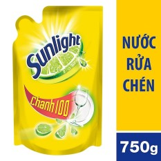 Nước rửa chén Sunlight chanh túi 750g sản phẩm đa dạng chất lượng đảm bảo an toàn về sức khỏe người dùng cam kết hàng giống hình