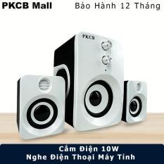 Loa nghe nhạc vi tính cao cấp cho điện thoại điện thoại, máy tính, PKCB-201 Speakers PF94