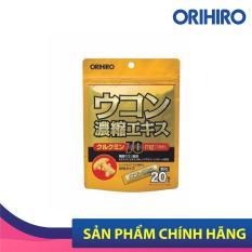 Bột nghệ giải rượu Orihiro Nhật Bản giúp giải độc tố, bảo vệ gan, 20 gói/túi