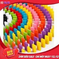 Đồ chơi trẻ em- Bộ đồ chơi 300 quân Domino bằng gỗ